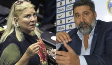 """Carrio accused Angelici cover up the judge Lijo: """"a shame. Do not count me"""""""