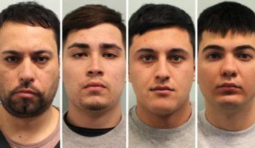 Chilenos son acusados de liderar bandas delictuales en Reino Unido