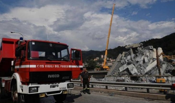 Collapse in Italy takes the lives of more than 43 people