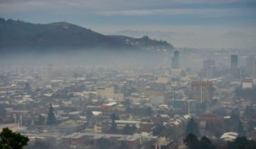 "Coordinator Araucanía clean allegation ""deplorable state of the air"" in Temuco"