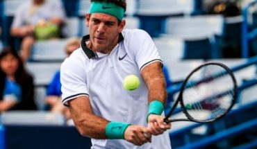 Del Potro kicked off with a good win against Chung at the Cincinnati Masters