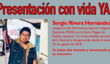 Desaparece opositor a proyecto hidroeléctrico en Puebla