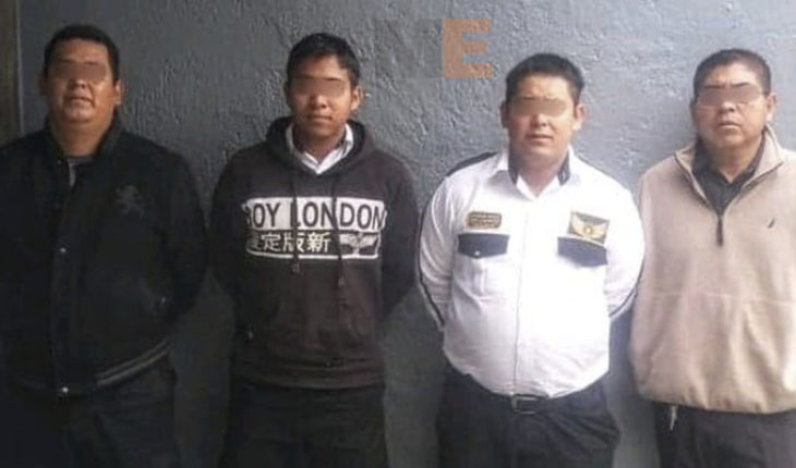 Detienen a private security guards involved in robberies to stores in Morelia, Michoacán