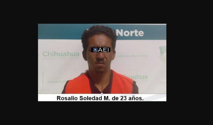 Detienen a suspect of the murder of Rafael