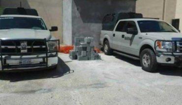 Ensure trucks Apocryphal books of the Marina in Tamaulipas