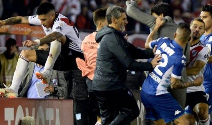 Enzo Pérez se arrepintió y explicó el motivo de la cargada a Ricardo Centurión