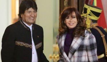 """Evo Morales dijo que los allanamientos a Cristina Kirchner son una """"persecución judicial y mediática"""""""