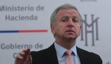 """Felipe Larraín's plea to opposition by tax modernization: """"Give a chance"""""""
