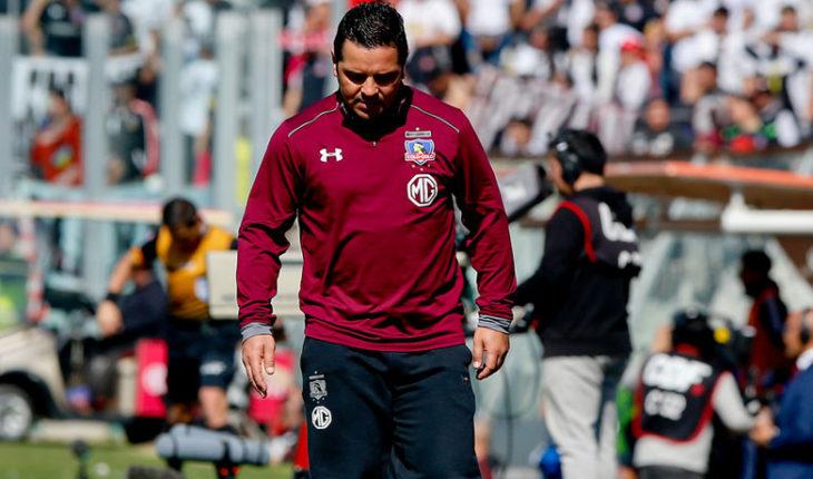 Héctor Tapia no podrá estar en la banca en el duelo ante Corinthians