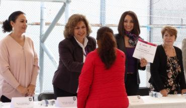 IMUMO entrega certificados de capacitación laboral a Mujeres Privadas de su Libertad