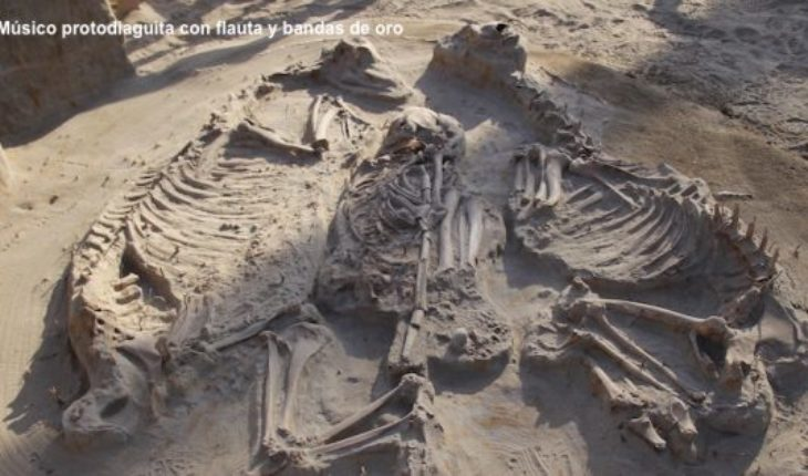 Important findings in archeological site El Olivar will rewrite the prehistory of Northern boy