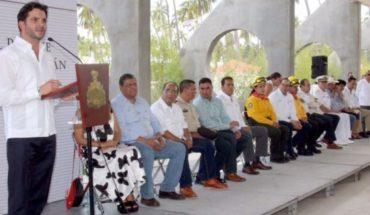 Inaugurated the Metropolitan Park of Tecoman