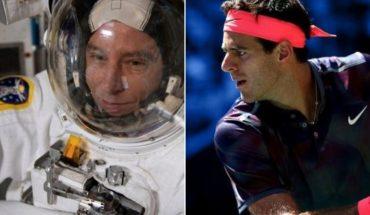 Juan Martín De el Potro revealed the formula to play tennis in the space