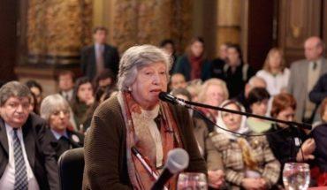 Last goodbye to Chicha Mariani, founder of the Grandmothers of Plaza de Mayo