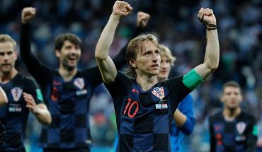 Luka Modric fue elegido el mejor jugador de Europa por la UEFA