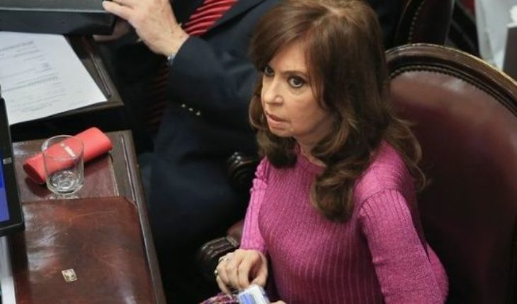 March to ask the desafuero of Cristina Kirchner and the extinction of domain