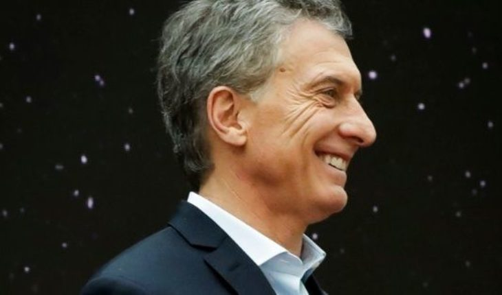 """Mauricio Macri: """"many say that it should not be me that Cristina complete dam"""""""