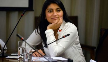 """Member Camila Rojas for decriminalization of abortion project: """"Is not a fad"""""""