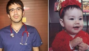 Mother viralizó image of nurse who saved the life of his daughter in Rancagua to thank you