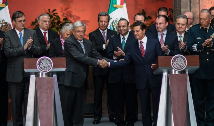 (Now yes) Officially starts the transition between AMLO and penalty