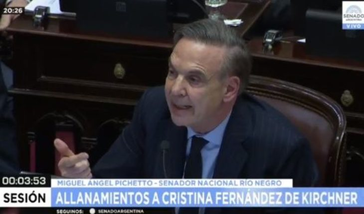 """Pichetto spoke after Cristian and replied: """"Stay quiet that you will be able to be a candidate"""""""