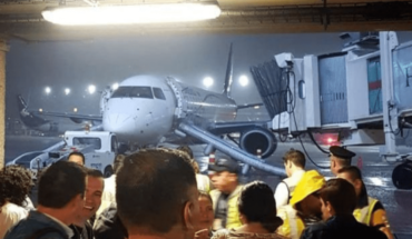 Plane with 105 passengers lands emergency in Chiapas Mexico