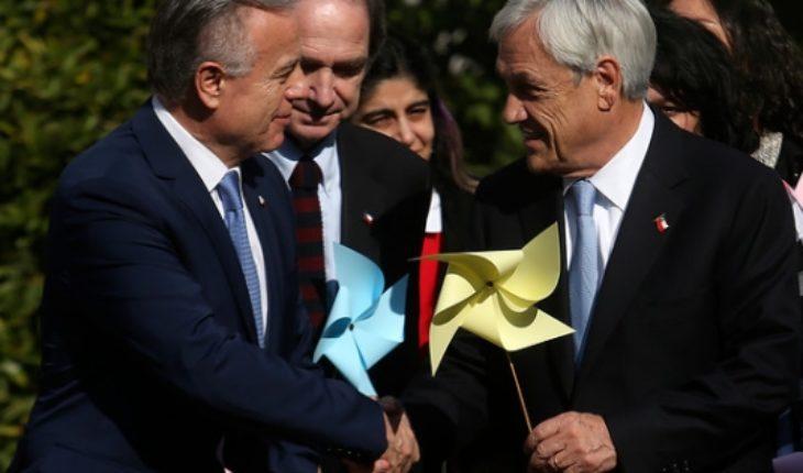 President Piñera announces creation of civil registration for unborn children