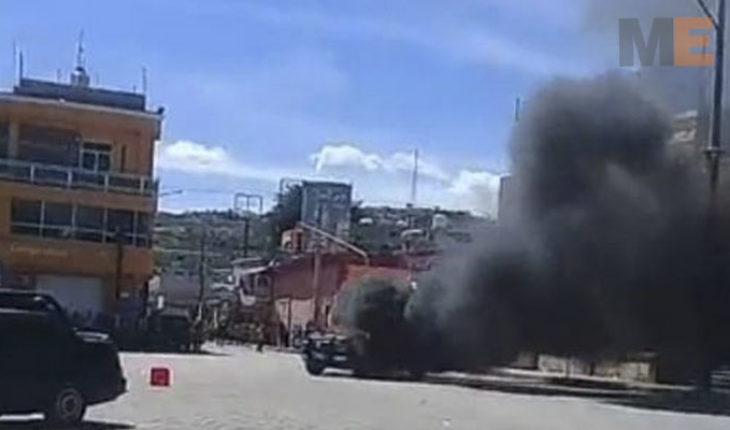 Queman vivos a dos hombres en Acatlán de Osorio, Puebla