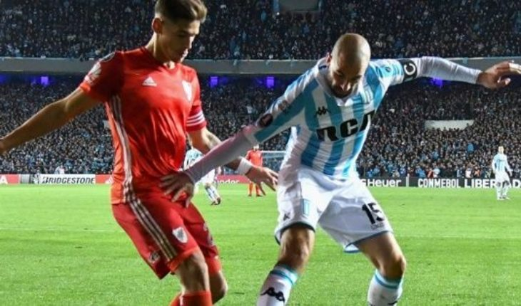 River y Racing: horario, TV y formaciones del duelo de octavo de final de la Copa Libertadores
