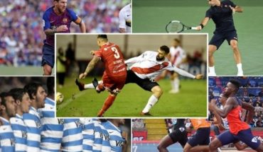 Sports calendar: what you can not miss the long weekend