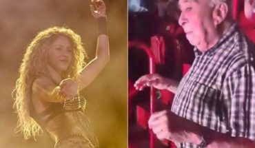 The 90-year-old grandfather moving your hips to the rhythm of Shakira