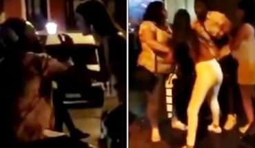 The brutal aggression of a renowned Spanish player to his girlfriend in the street