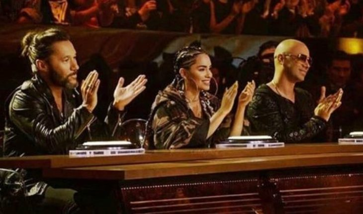 The participating trans surprised Lali Espósito, Diego Torres and Wisin in talent Fox