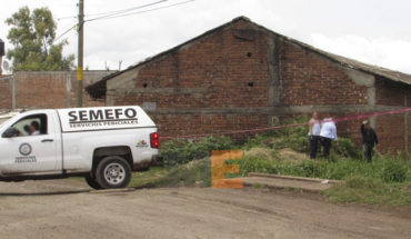 They found the corpse of a man in Zamora irrigation canal; signs of violence