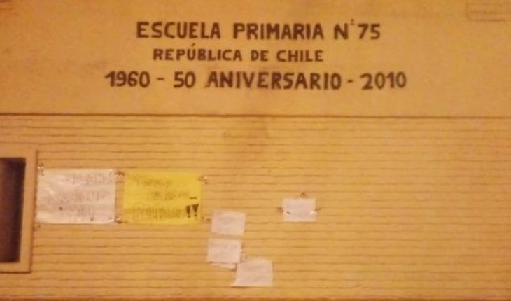 They take a school in Quilmes by crisis in its infrastructure