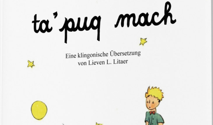 """They translated """"The little Prince"""" language klingon from Star Trek"""