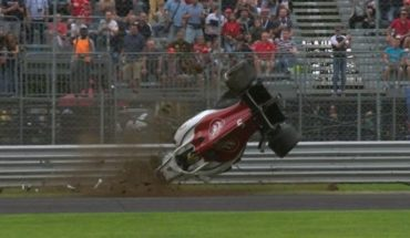 VIDEO | Dramatic crash in Formula 1: Ericsson lost control and shattered his car