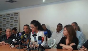 Venezuelan opposition front called on Dole supports and prepares national strike