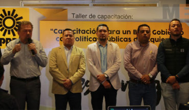 With skills to govern, PRD Michoacan seeks to rebuild the party guidelines