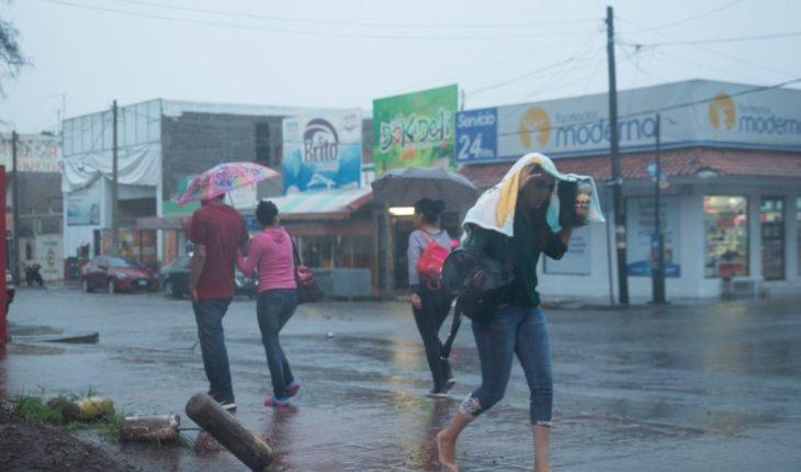 ¡Prepárese! Lluvias con tormentas eléctricas para varios estados