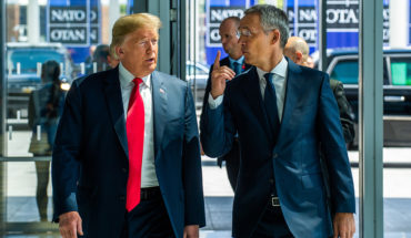 Donald Trump y Jens Stoltenberg en la pasada cumbre de la OTAN de julio de 2018. Foto: NATO North Atlantic Treaty Organization (CC BY-NC-ND 2.0). Blog Elcano