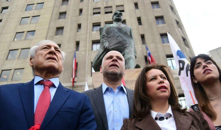 11 de septiembre: PPD y PS realizaron homenaje al ex Presidente Salvador Allende