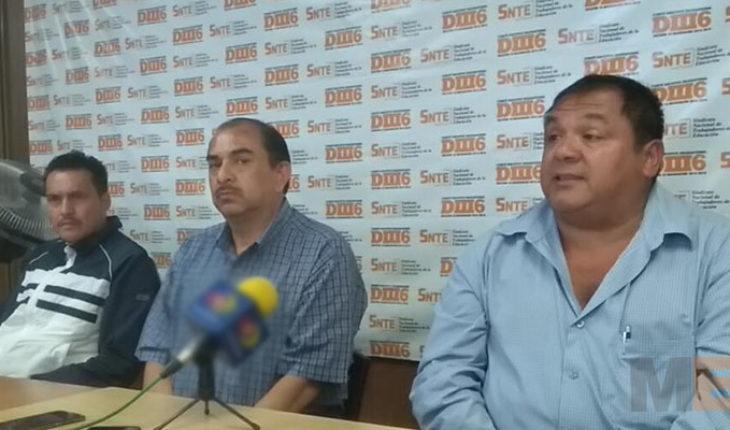 A diez días de paro, agremiados de la DIII6 del SNTE marcharán mañana en Morelia, Michoacán