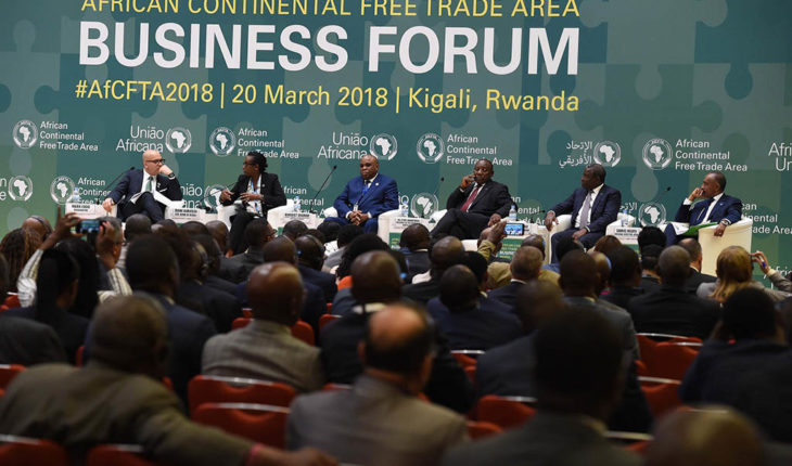 African Continental Free Trade Area Business Forum #AfCFTA2018. Foto: GovernmentZA (CC BY-ND 2.0). Blog Elcano