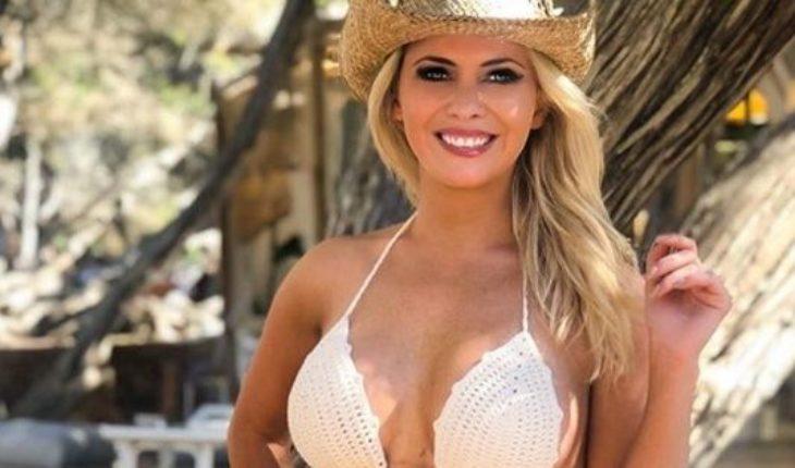 Alejandra Maglietti posó en la playa y se proclamó a favor del cuerpo al natural