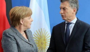 Angela Merkel ofrece su apoyo a Macri ante la crisis económica argentina