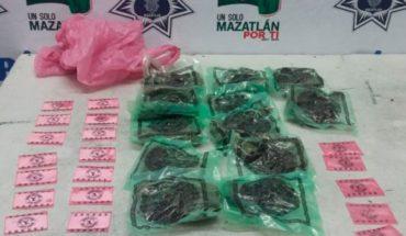 Aseguran 79 bolsitas con droga en distintas colonias