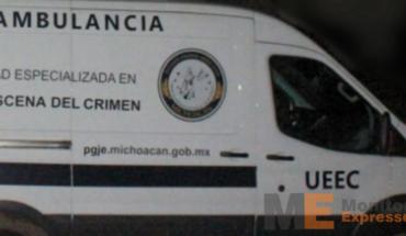Ambulancia UEEC Michoacán