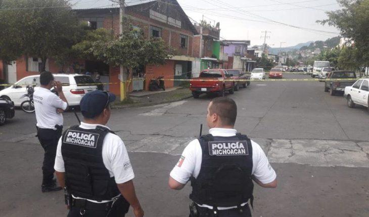 Atentado a balazos en Uruapan, Michoacán deja dos jóvenes lesionados