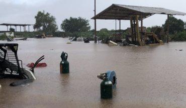 Autoridades evacuan a 1,475 por lluvias en Sinaloa